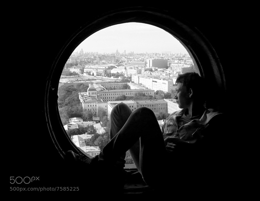 Photograph window into the past by Alexander Remnev on 500px