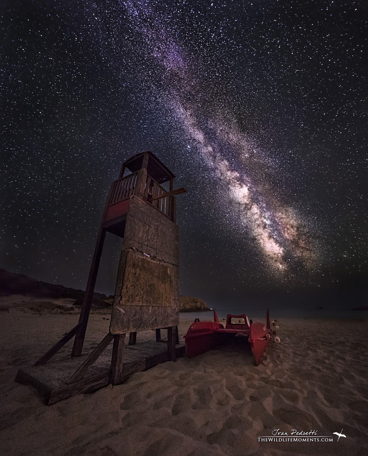 Photograph starry tower rescue by Ivan Pedretti  on 500px