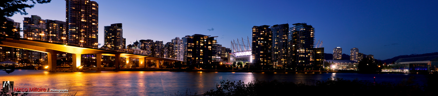 Photograph False Creek by Mirco Millaire on 500px