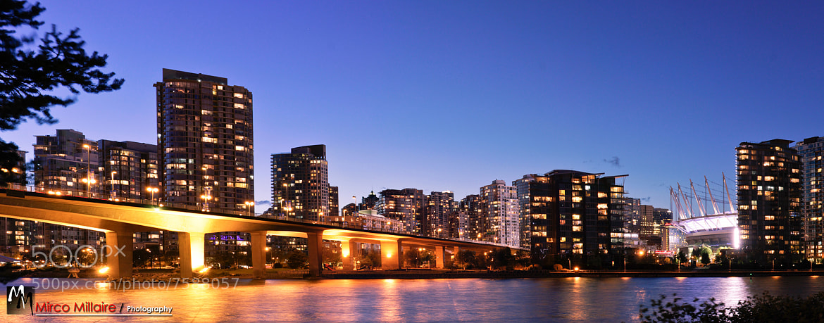 Photograph Cambie Street Bridge by Mirco Millaire on 500px