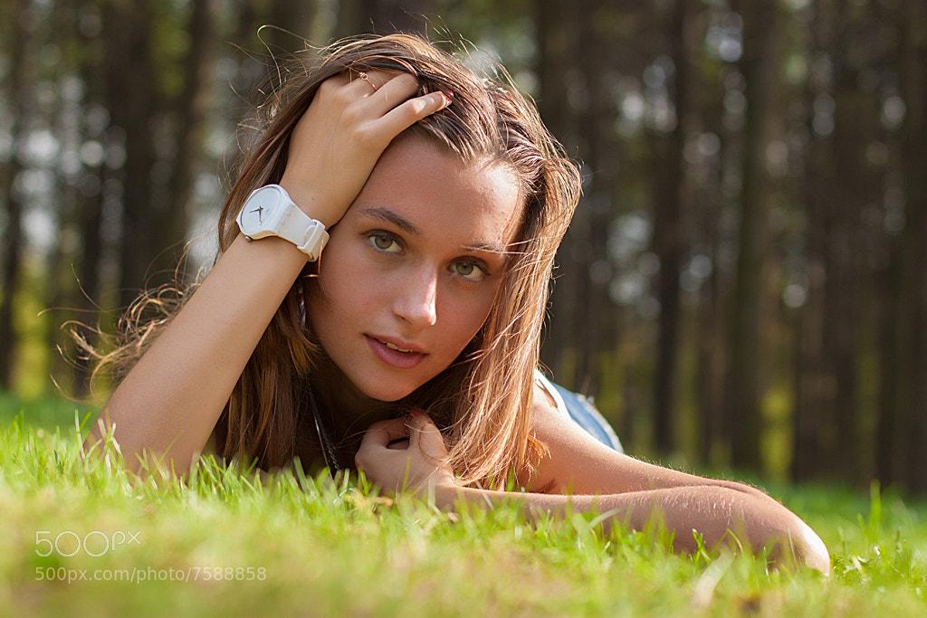 Photograph Nastya by Alexander Ignatyev on 500px