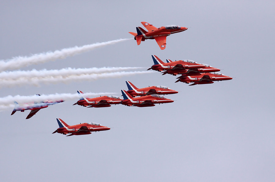 Red Arrows - Break