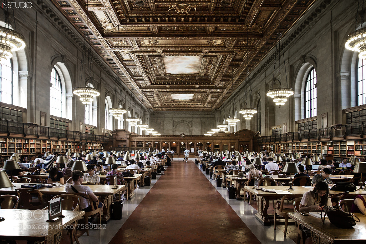 Photograph New York - Public Library by NSTUDIO PHOTO on 500px