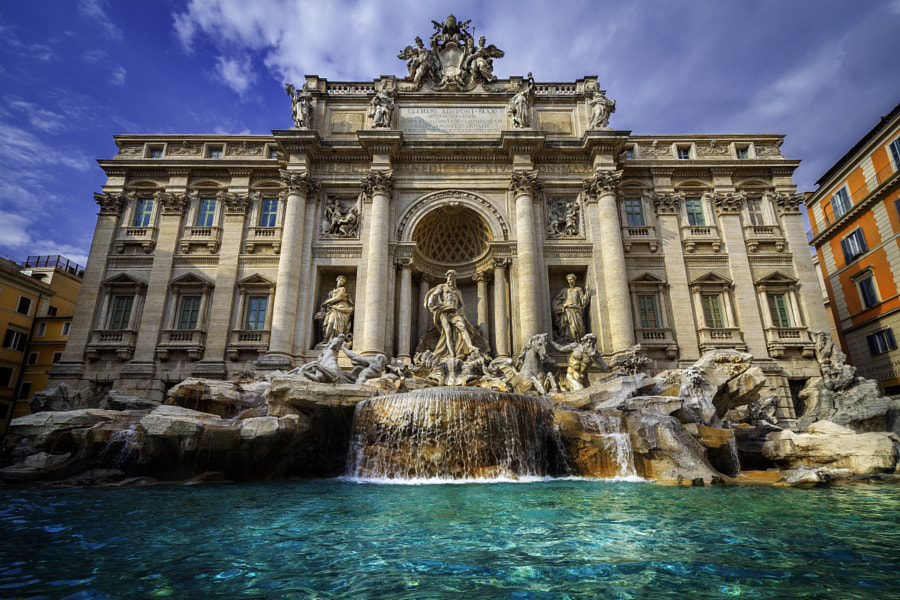 Fontana di Trevi by Peter Stewart on 500px.com