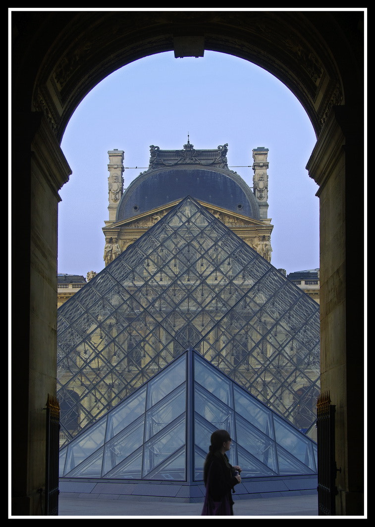 Photograph Louvre Pyramide by Samy Apfelmann on 500px