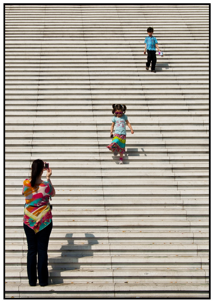 Photograph Photo at Stairs by Samy Apfelmann on 500px