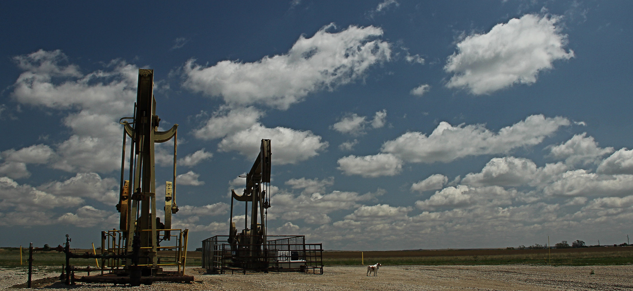 Photograph Oil Well Northern Colorado by Johnny Gomez on 500px