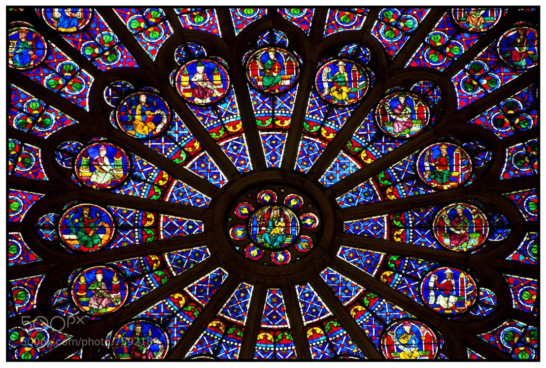 Photograph Notre Dame Inside by Samy Apfelmann on 500px