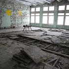 Постер, плакат: Gym in School of Pripyat
