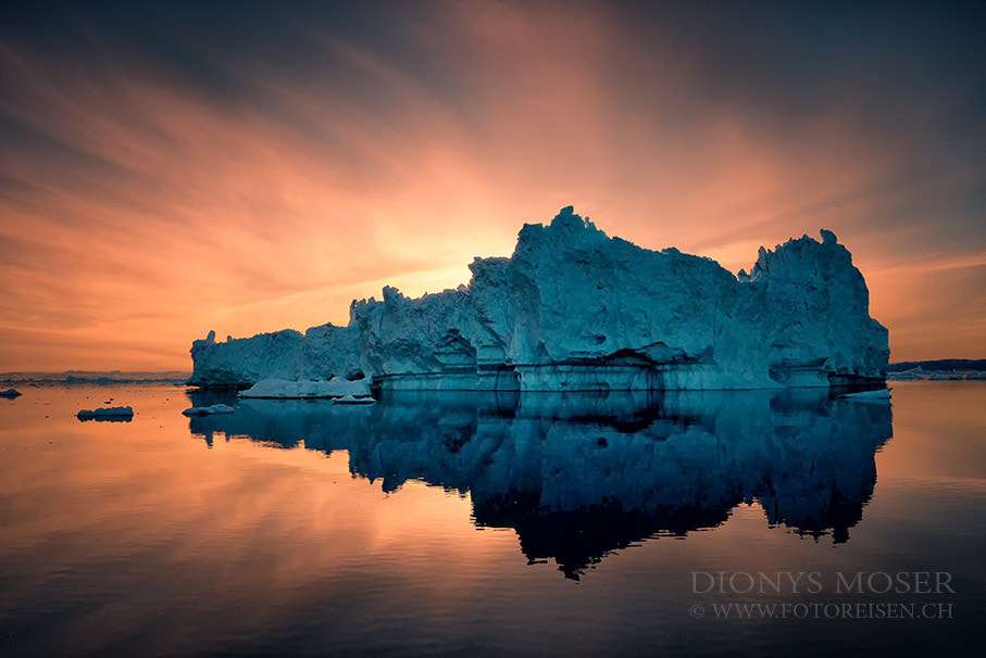 Photograph fire on ice by Dionys Moser on 500px