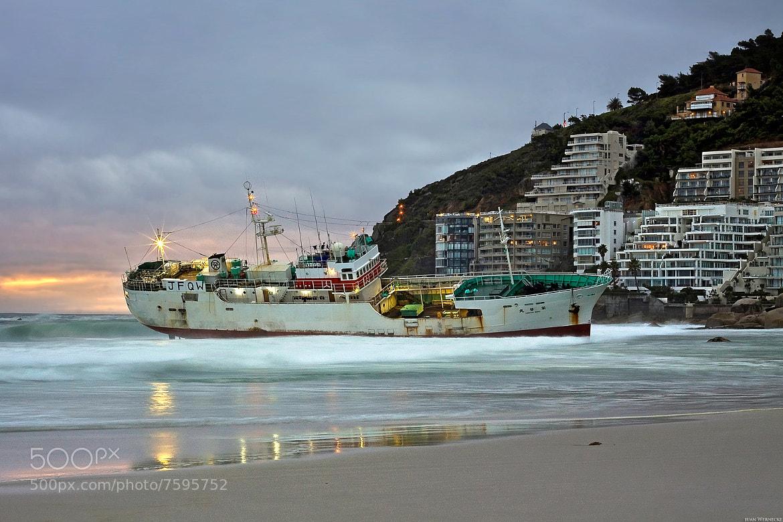 Photograph Ediatsu Maru Shipwreck Clifton, South Africa by Juan Wernecke on 500px