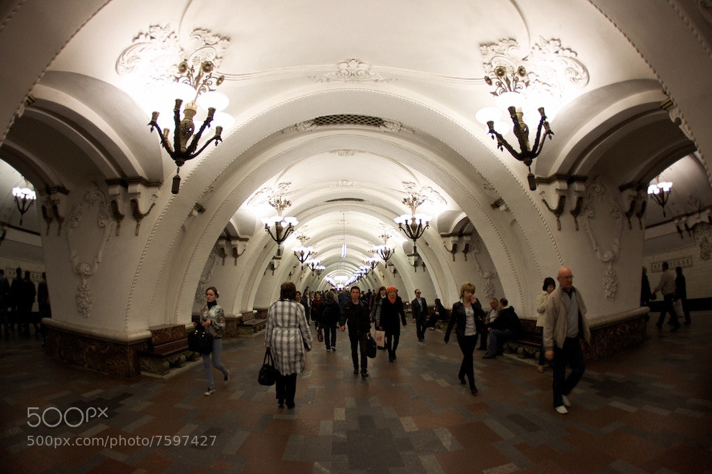 Photograph The Moscow Metro by Alex Kom on 500px