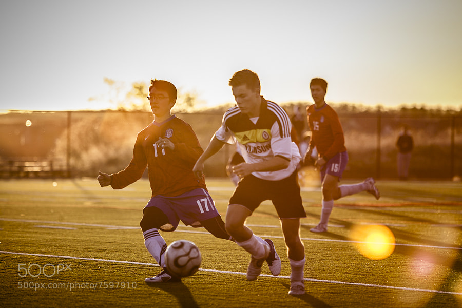 Photograph Soccer  by Nicolas Hesson on 500px