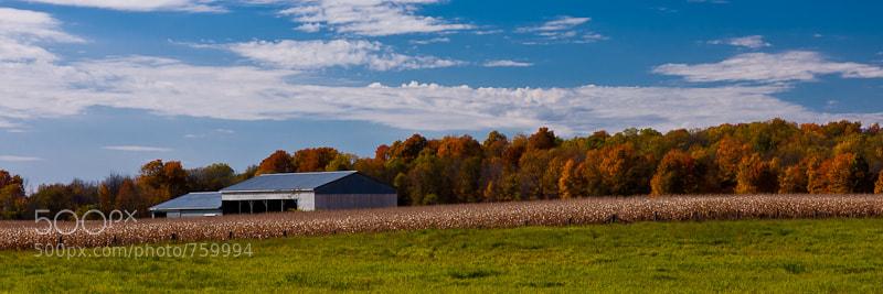 Photograph Autumn Barn by Ted Kaiser on 500px