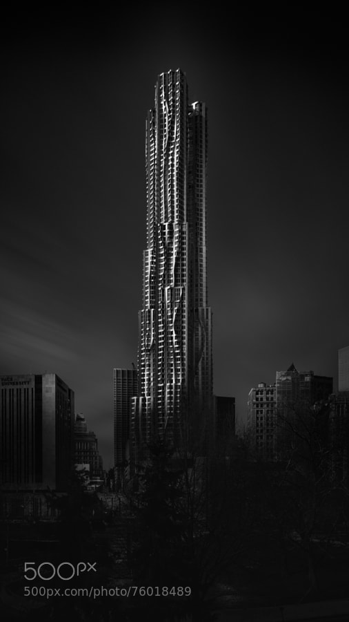 Photograph Visual Acoustics IX - Silence and Light - 8 Spruce Street - Rise by Joel (Julius) Tjintjelaar on 500px