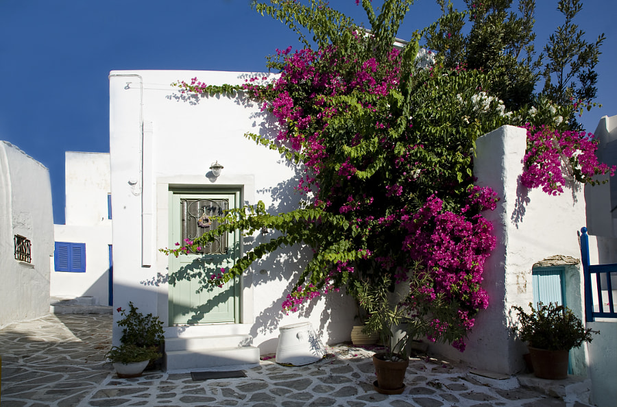 Typical Greek colours by Damianos Kounenis on 500px.com