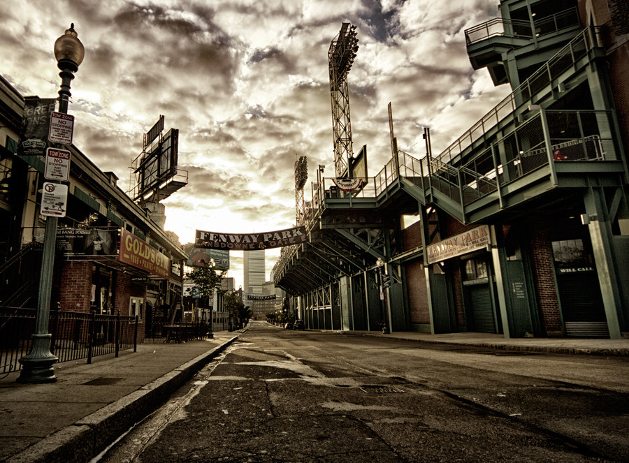 Photograph Fenway by Oliver Hermann on 500px