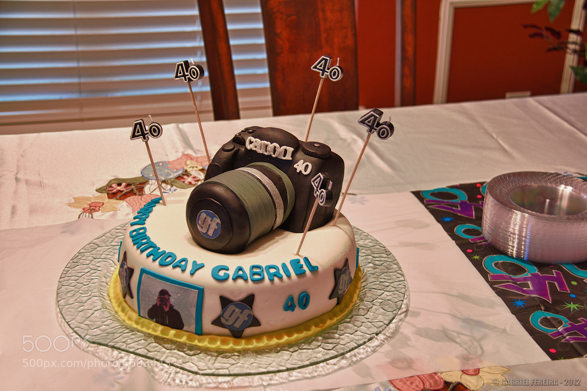 Photograph My 40th Birthday Cake by Gabriel Fereira on 500px