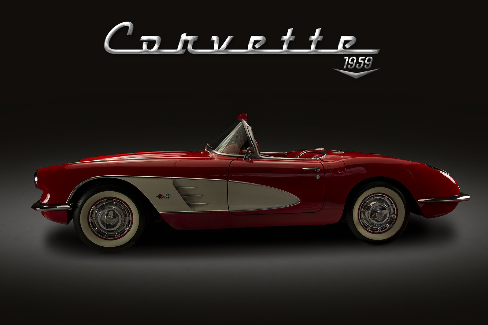 Photograph 1959 Vette by Bryon Wiley on 500px