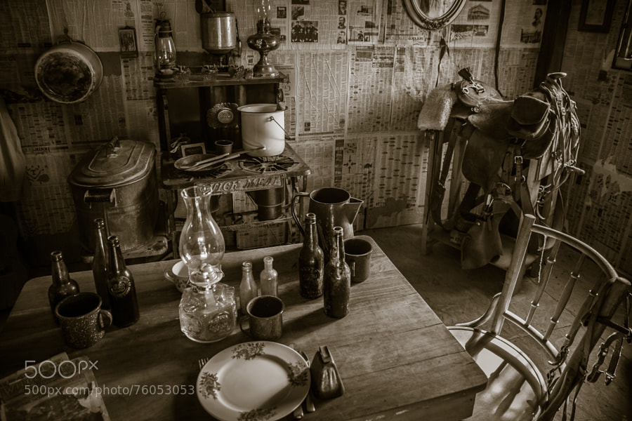 Photograph Bunkhouse Still Life by Pat Kofahl on 500px