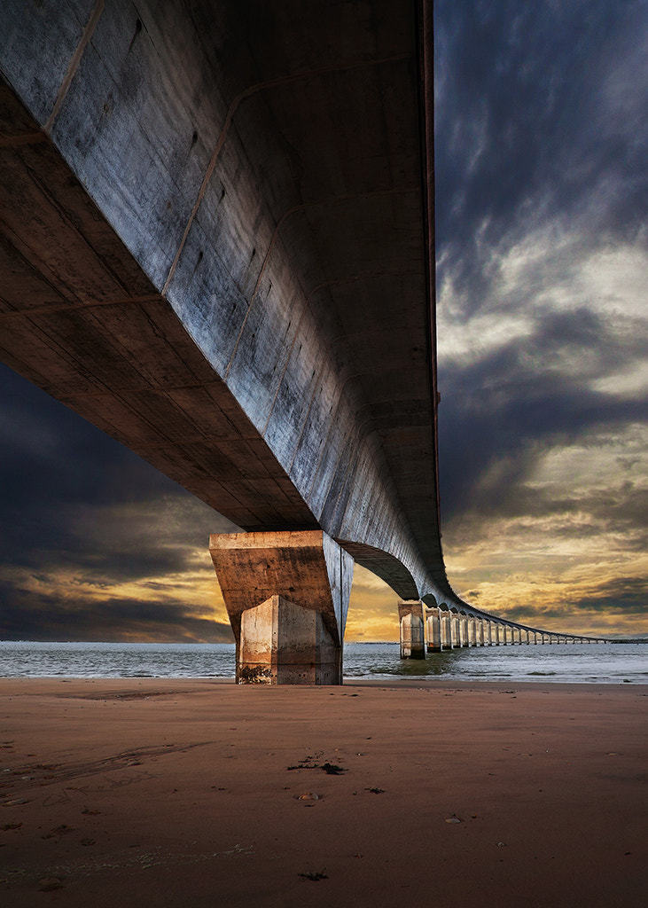 Photograph Under the bridge by Cal Redback on 500px