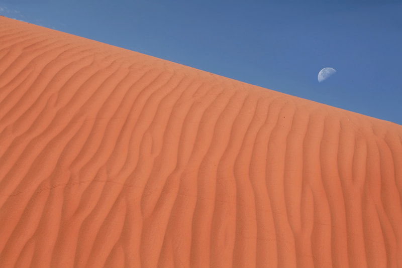 Photograph Sand and Moon by Avishek Roy on 500px