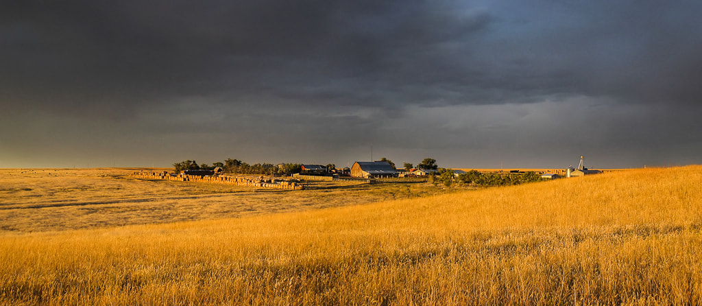 Photograph Montana Farmscape by Dennis Rogers on 500px