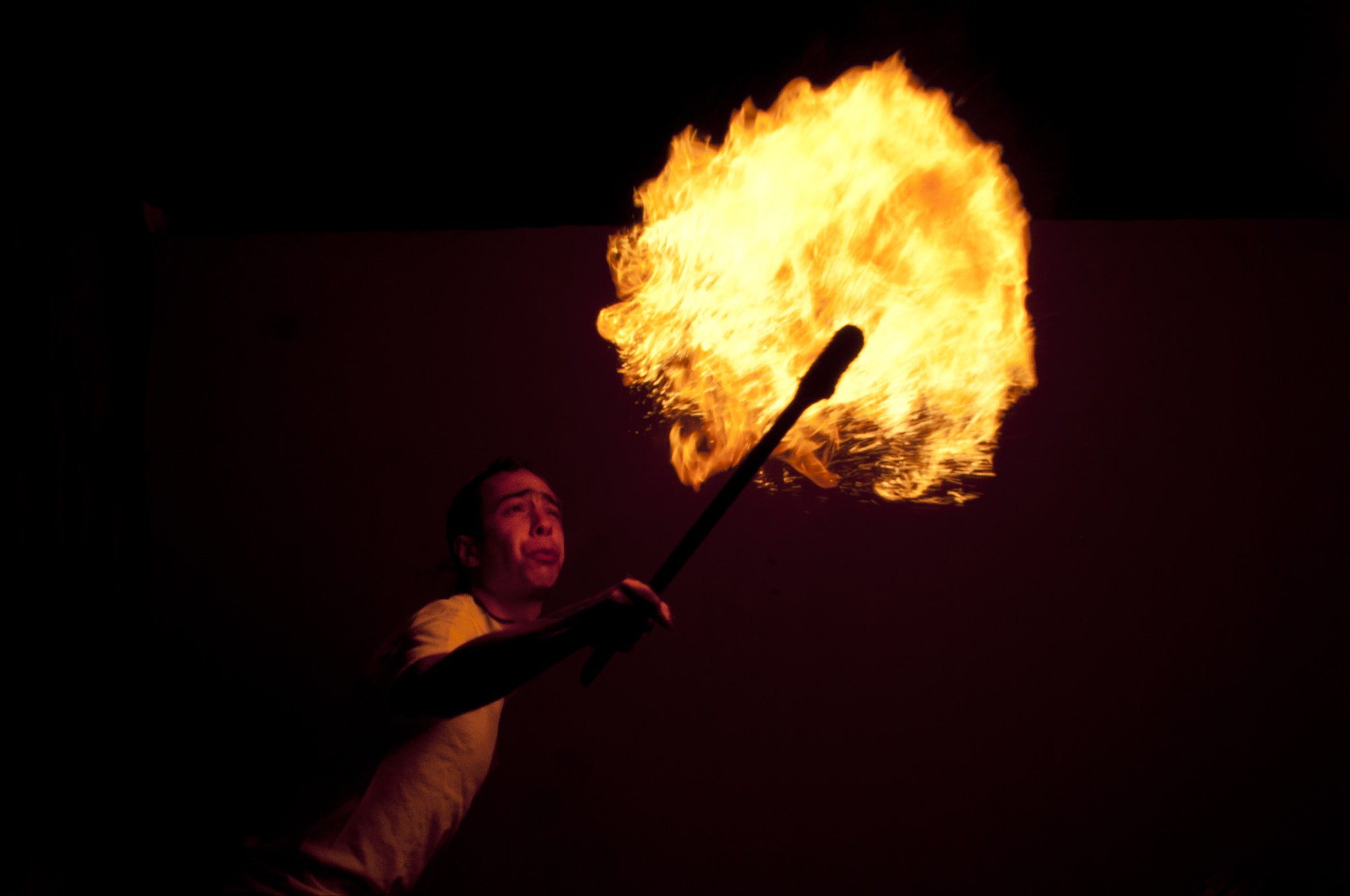 Photograph Simon spitting fire by Jorge  Torres on 500px