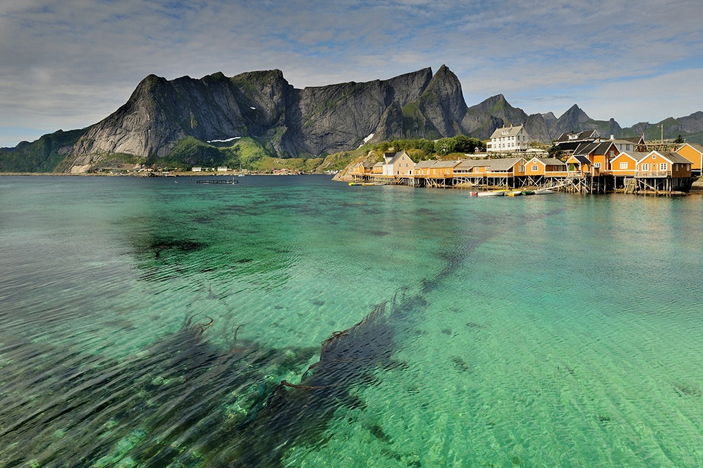 Photograph Lofoten II by Jan  Siemiński on 500px