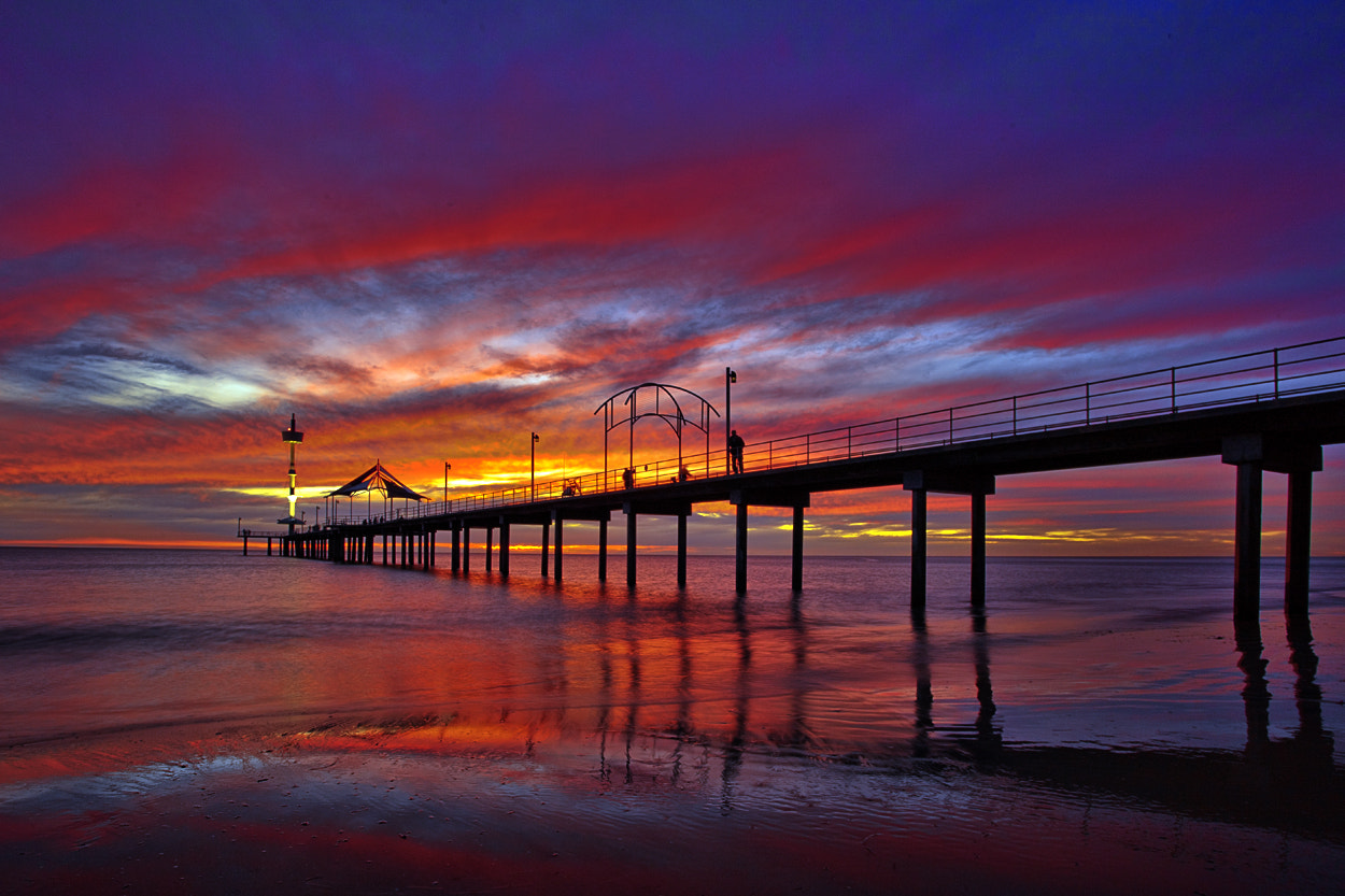 Photograph End of the Day at Brighton Jetty by Alan Tan on 500px