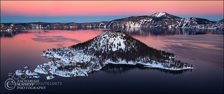 Photograph Wizard Island Pano by Zack Schnepf on 500px