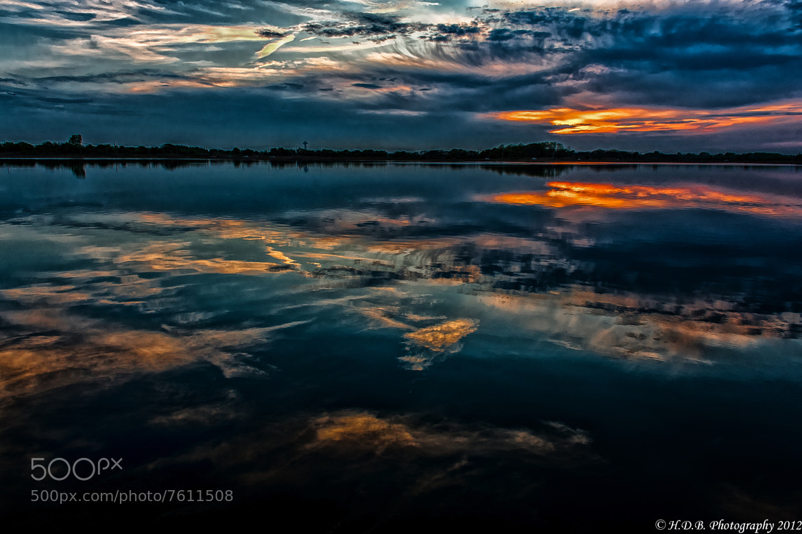 Photograph Sunset Reflections #3 by Harold Begun on 500px