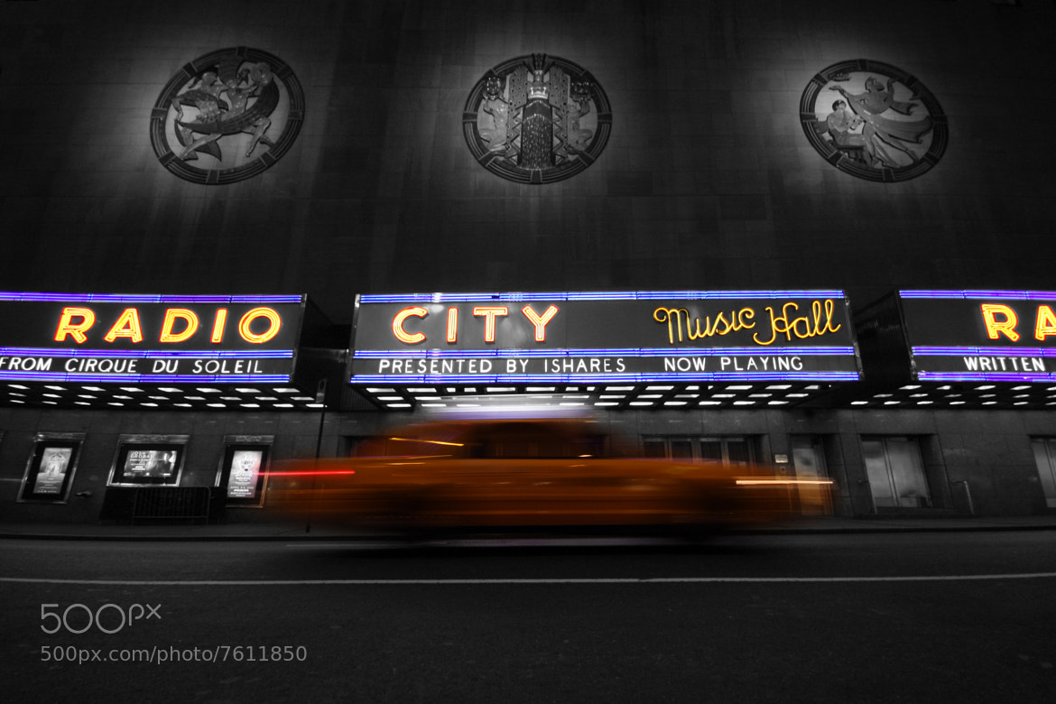 Photograph Radio City Music Hall by Hugo Tinoco on 500px