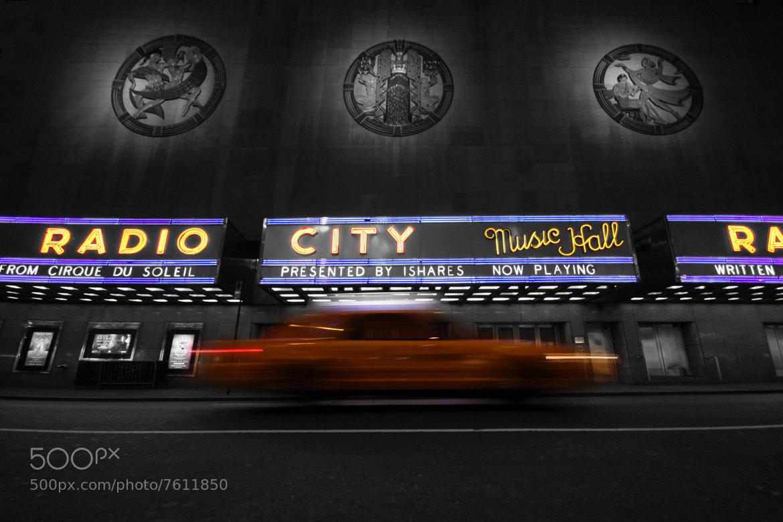 Photograph Radio City Music Hall by Hugo Tinoco on 500px