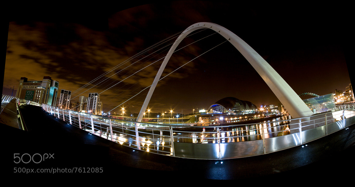 Photograph Millennium Bridge by Mitt Nathwani on 500px