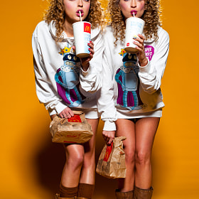 Fast Food Girls by Serge Lee (sergelee)) on 500px.com