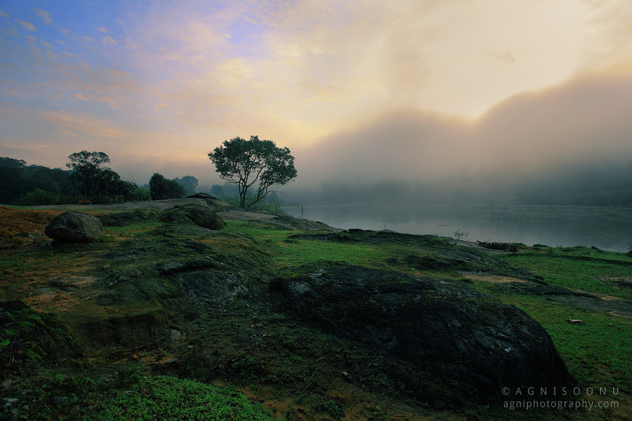 Misty sunrise at Agumbe. by Agnisoonu K on 500px.com