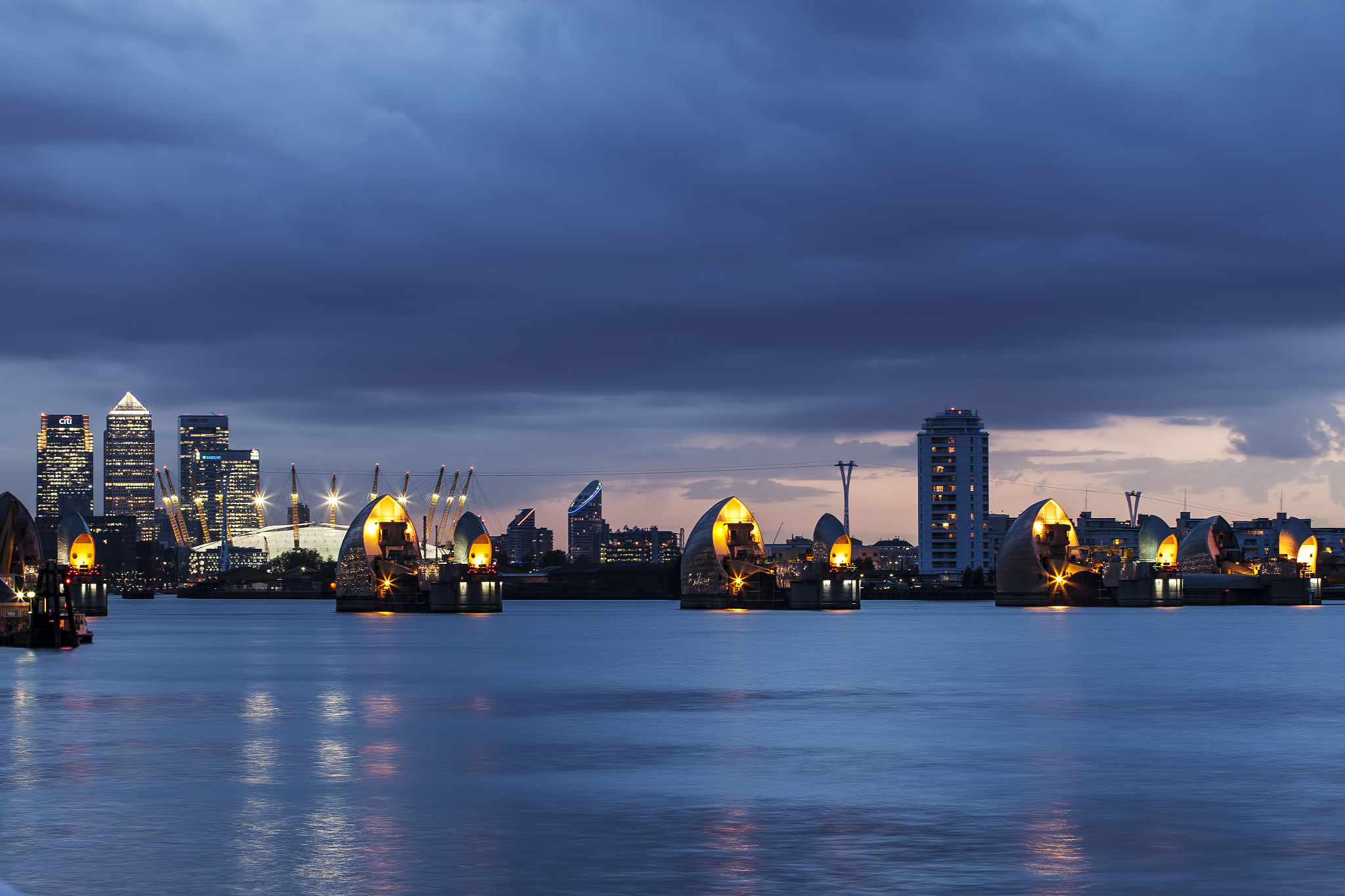 Photograph Thames Barrier by Dean Bedding on 500px