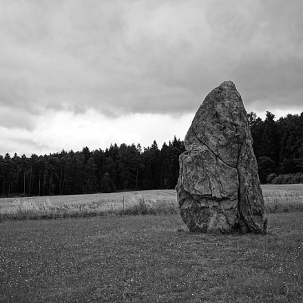 Standing alone - Menhir stone