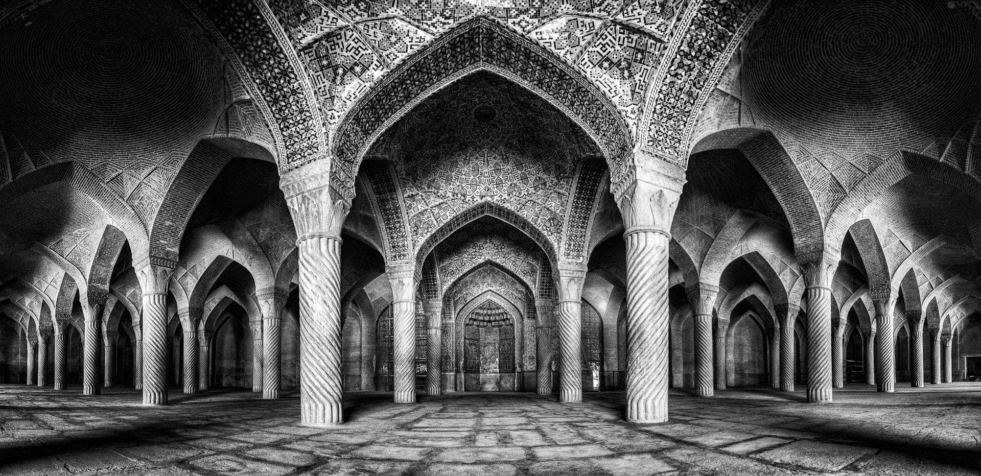 Photograph Vakil Mosque Panorama by Mohammad Reza Domiri Ganji  on 500px