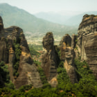 Постер, плакат: Meteora the eighth wonder of the world