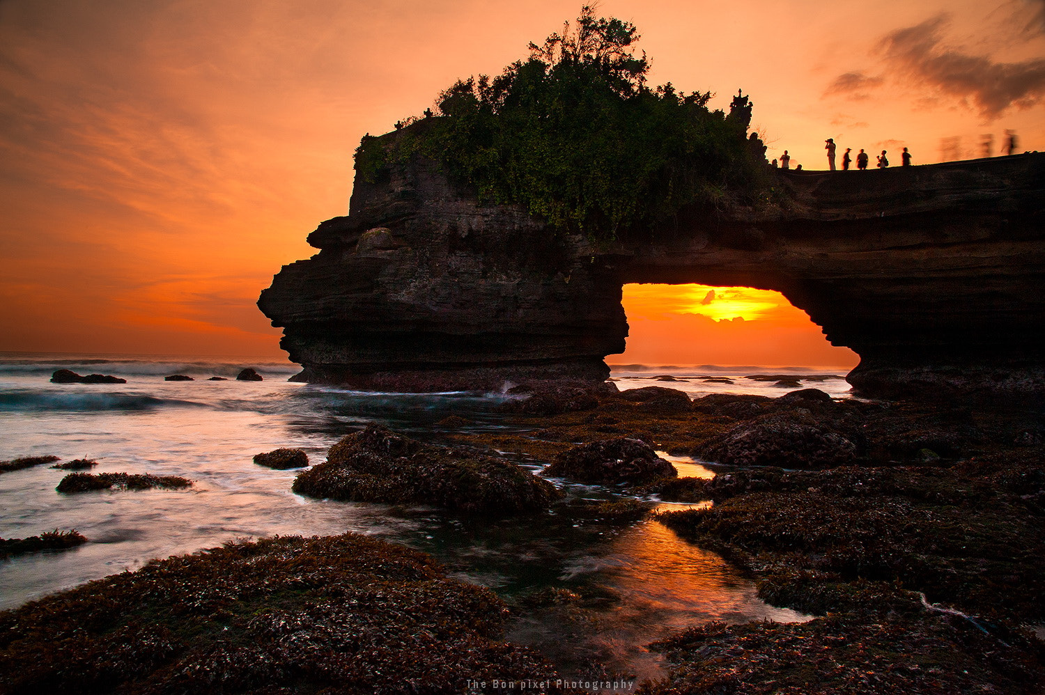 Photograph  Sunset at Tanalot temple by JAKKRIT IMLIMTHAN on 500px
