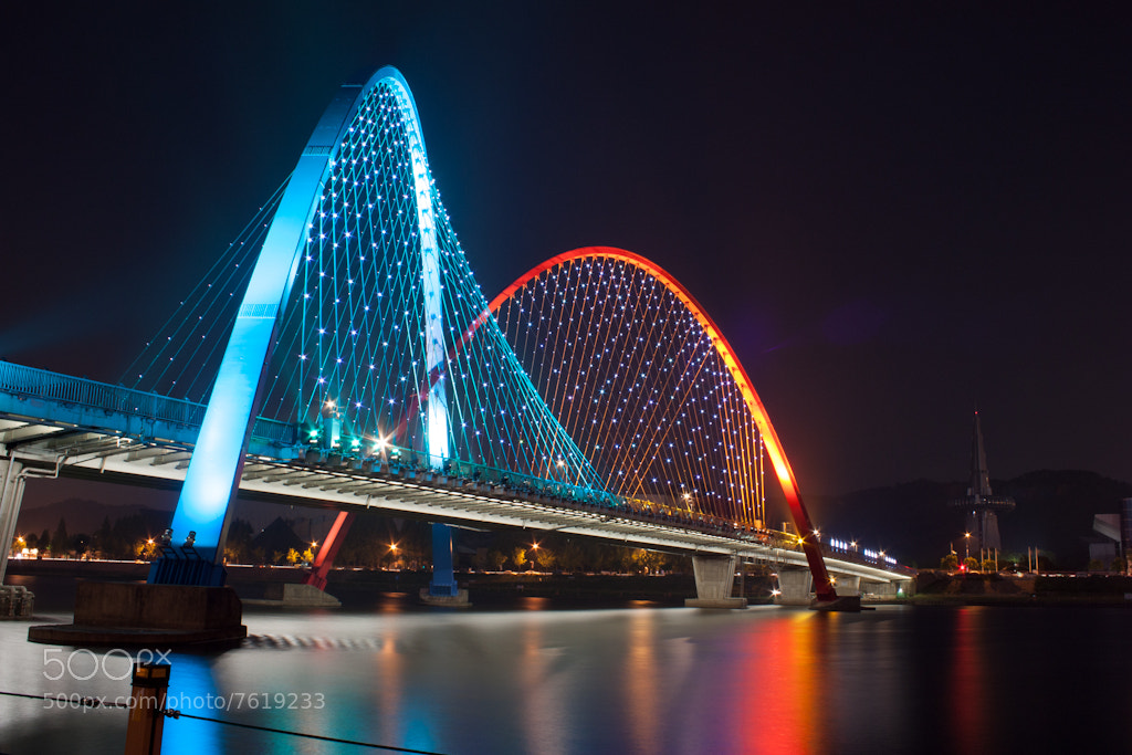 Photograph 1993 Dae-Jeon EXPO bridge by GW Park on 500px