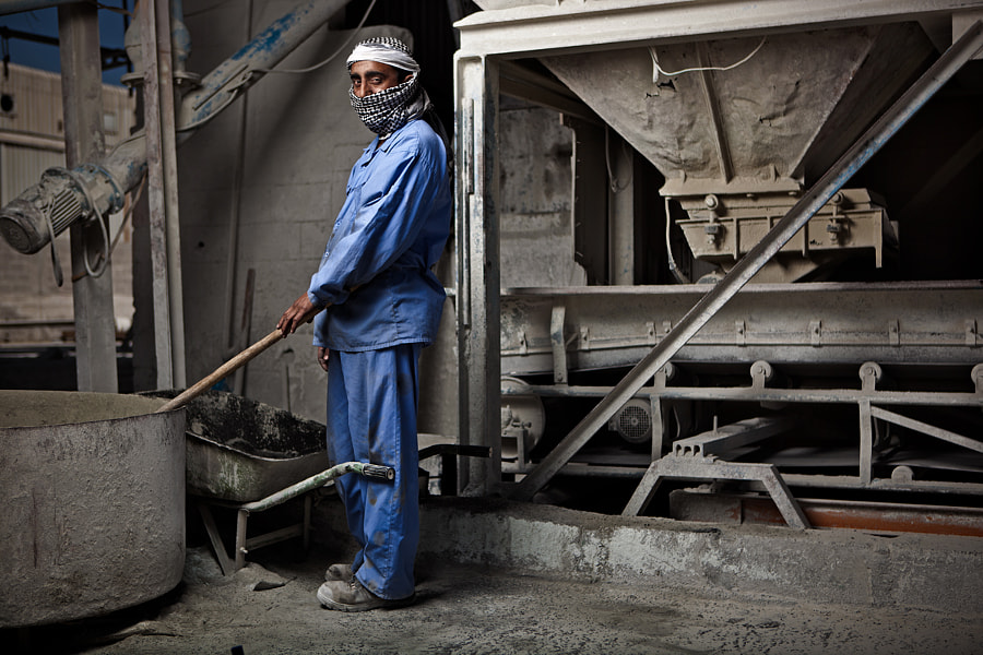 Tile Factory Worker