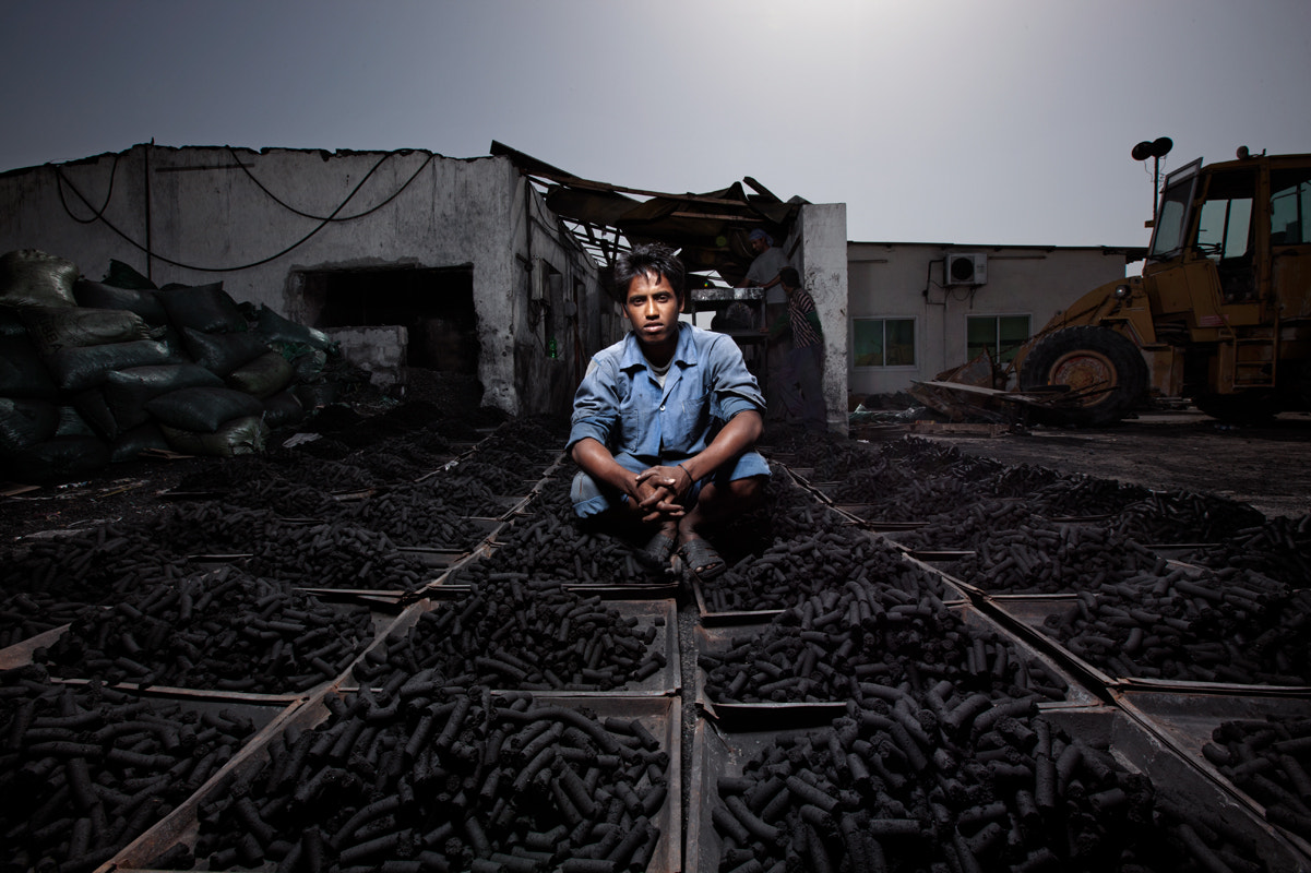Photograph Charcoal worker by martin prihoda on 500px