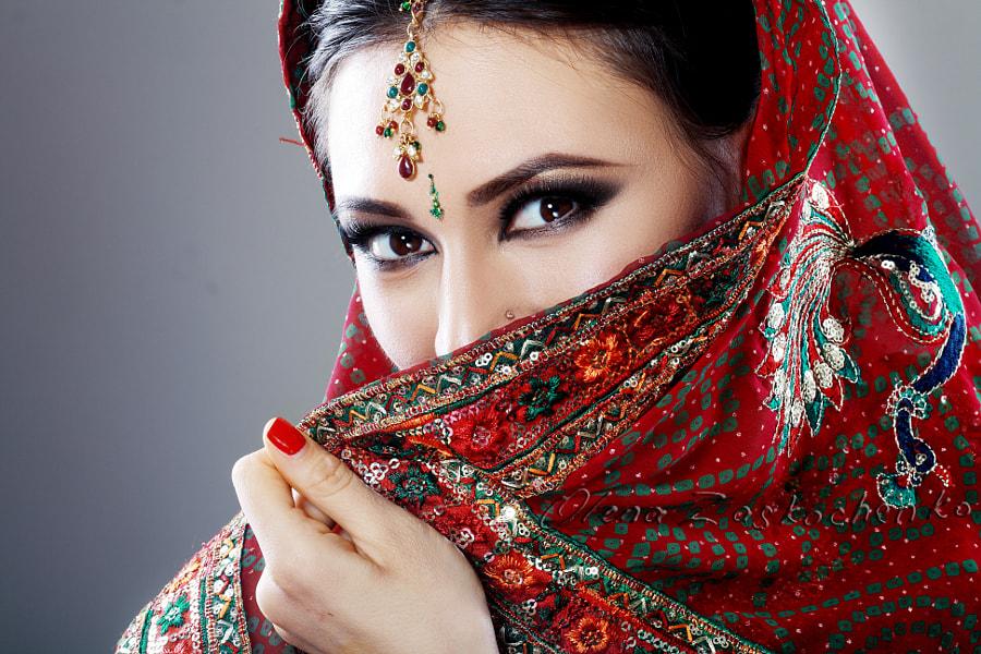 Indian beauty by Olena Zaskochenko on 500px.com