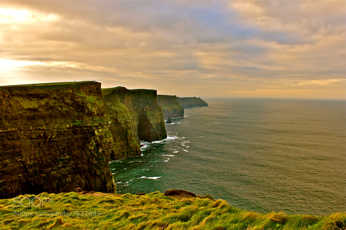 Photograph Cliffs of Moher - Ireland  by Katerina Lahiff on 500px