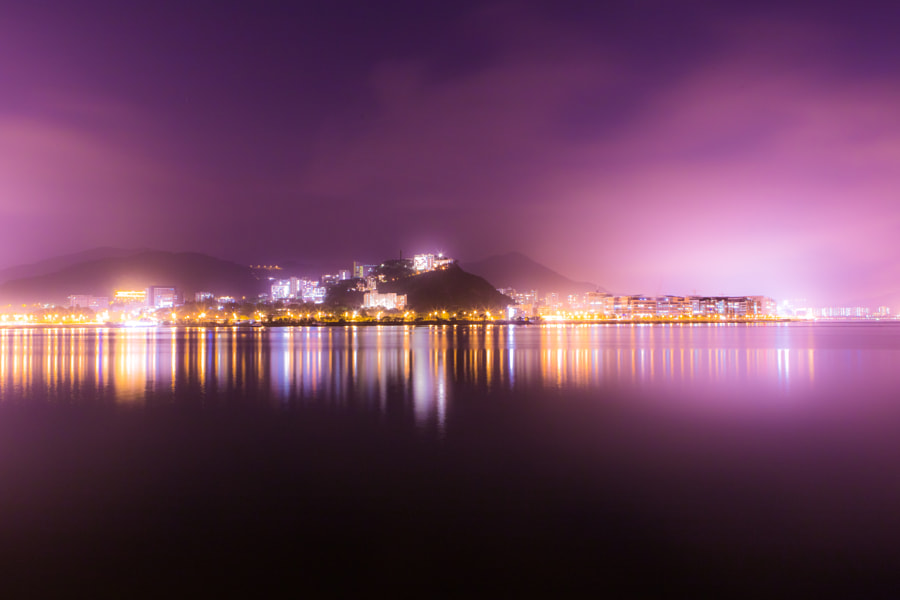Night Serenity in Purple and Gold by See-ming Lee on 500px.com