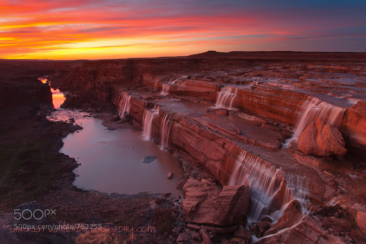 Photograph Little Colorado Sunset by Darren  White on 500px