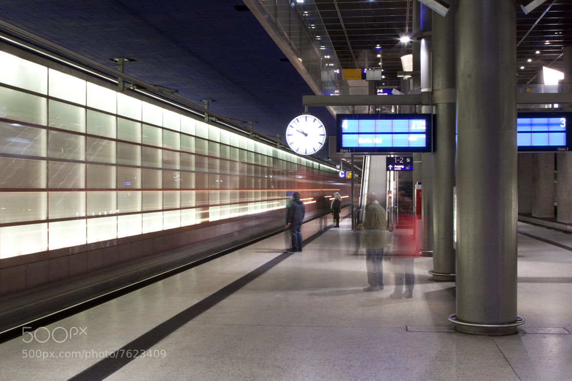 Photograph S-Bahn Tunnels (Potsdamer Platz) by Sam Turley on 500px